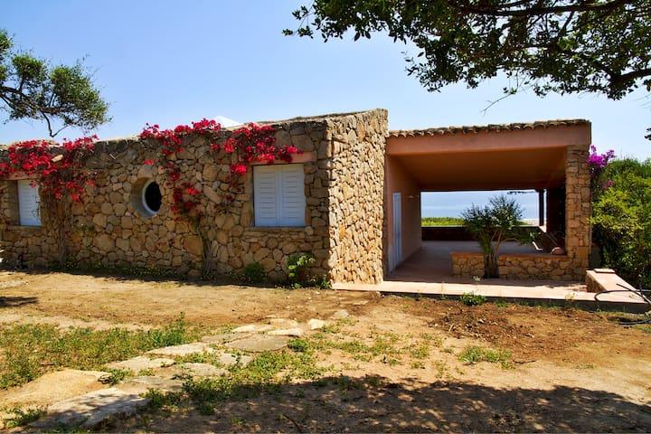 Villa Molarina -Punta Molara - 300mt spiaggia - Punta Molara - Rekkehus