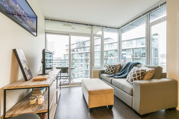Modern Olympic Village One Bedroom Rental