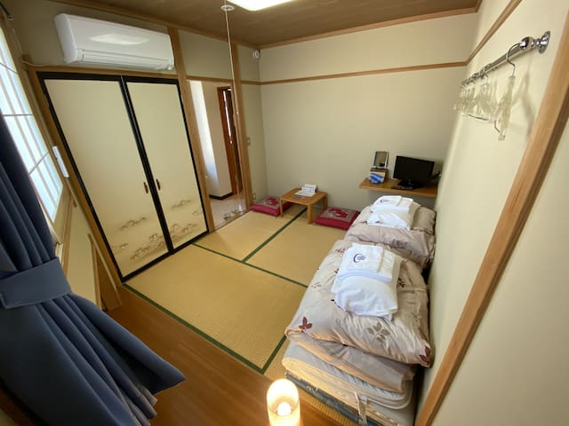 Nozawa Dream Central - 7sqm Japanese style room with shared bathrooms&toilets