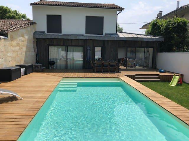 Maison d'architecte Bordeaux Caudéran
