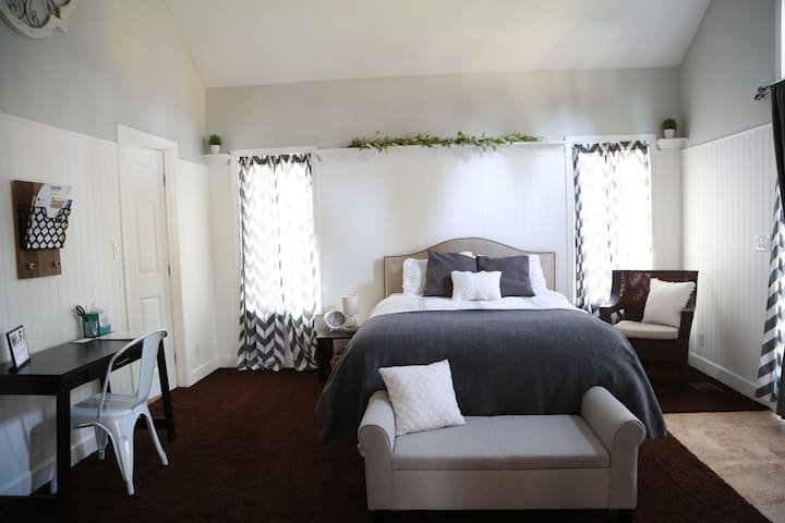 PRIVATE ENTRANCE! Large Room w/ Private Bathroom!!