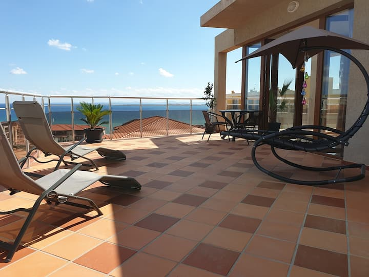 Luxury Penthouse Sea View Sunny Beach