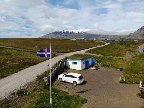 Wonderful hideout at the roots of Snæfellsjökull