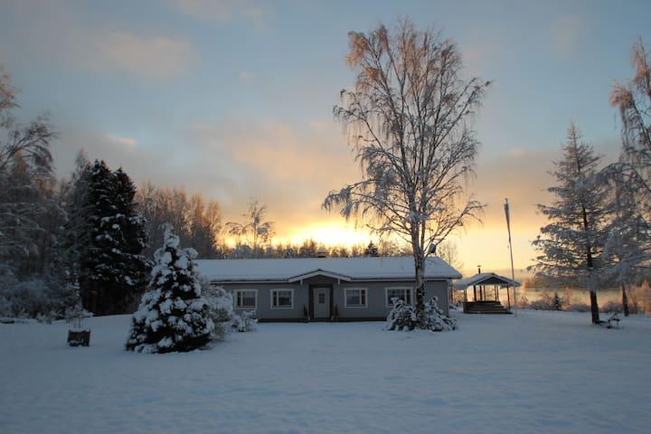 Villa Kupsala for 15,Saimaa area