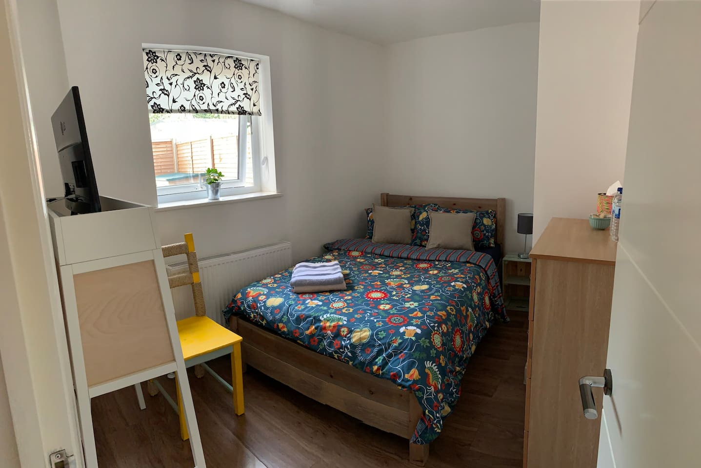 Newley Decorated Small  Double Room