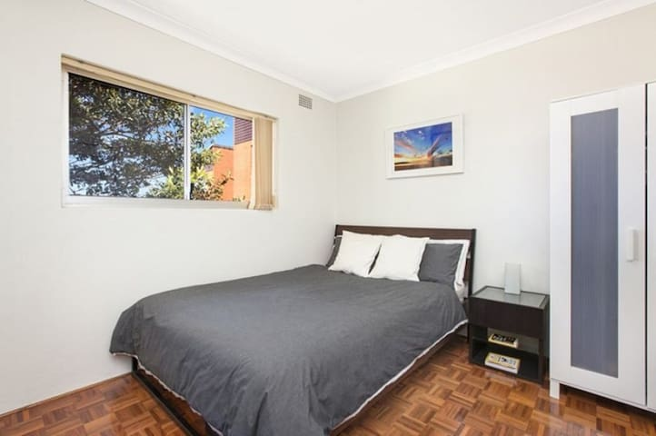 This is an old photo - contents of the room has changed - Queen size bed in room.