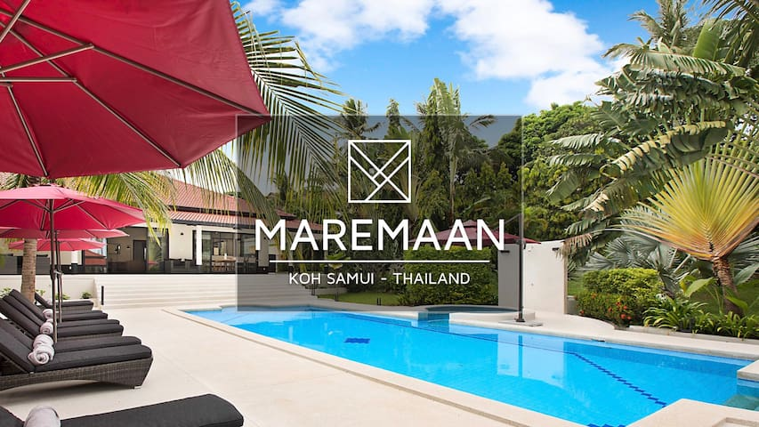 MAREMAAN Pool Villa, 16 guests, 8 Bdr/8 Baths