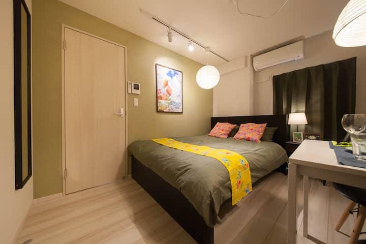 102/1 Room/Nippori, Yanaka, Ueno, Asakusa/Wi-Fi