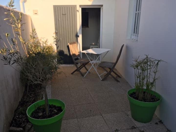 Location studio La Couarde sur Mer