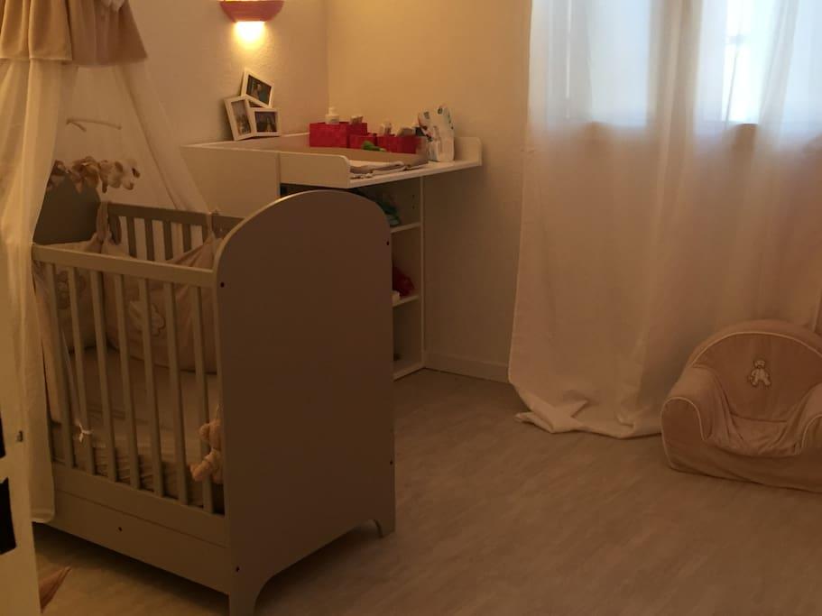 chambre enfant ou lit d'appoint