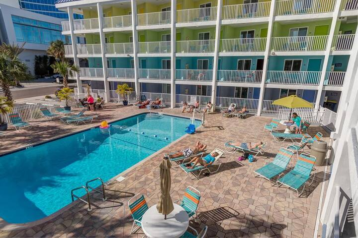 Affordable Efficiency in the Heart of Clearwater Beach #224- Best Rate on the Beach!