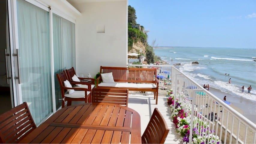 Incantevole casa sul mare ad Anzio vicino a Roma - Nettuno - Appartement