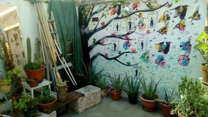 Habitación Privada en casa Valenciana con patio - València - House