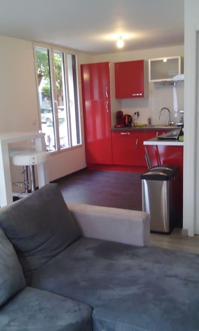 location appartement meuble lorient - appartement de 42 m2 lorient appartements louer