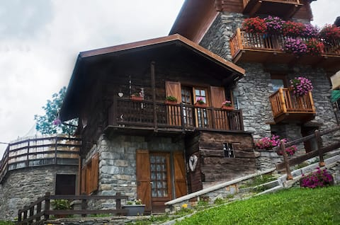 Chalet indipendente in centro a Valtournenche