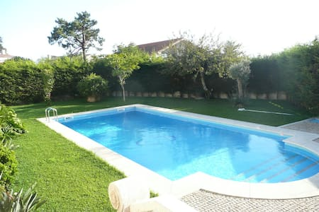 Luxury villa with a great pool and garden - Marinhas