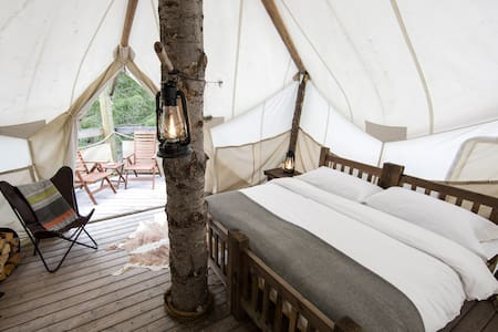 Under Canvas Glacier - Treehouse - Coram