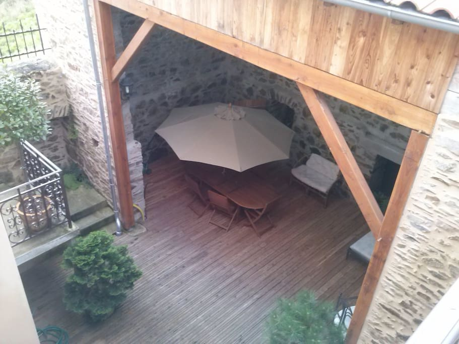 Vue du patio