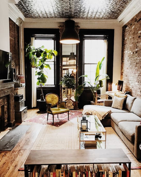 Lower East Side Brownstone Loft Apartments For Rent In