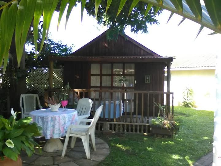 Self-catering cabin.