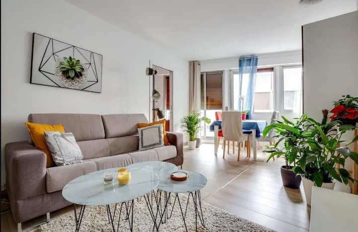 Cute one-bedroom Luminous apartment