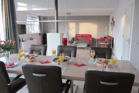 Luxury very spacious familyhouse - Dedemsvaart