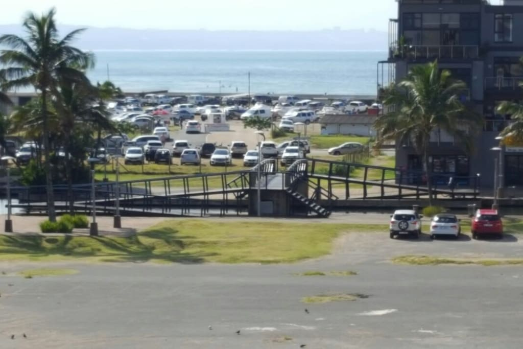 Seaview from of the property