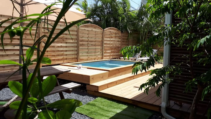 Bungalow Kanella avec piscine privative