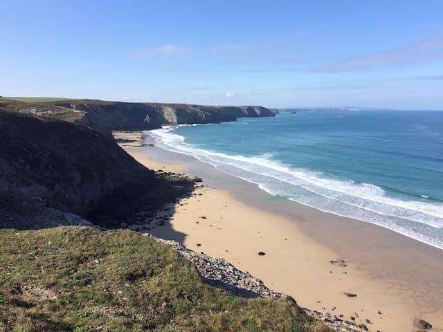 Dramatic sea views of North Coast of Cornwall