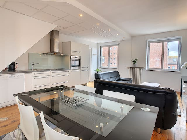 Appartement en hyper centre de Dunkerque