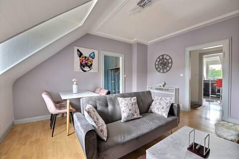Ecrin design et luxueux bien situé à Mulhouse