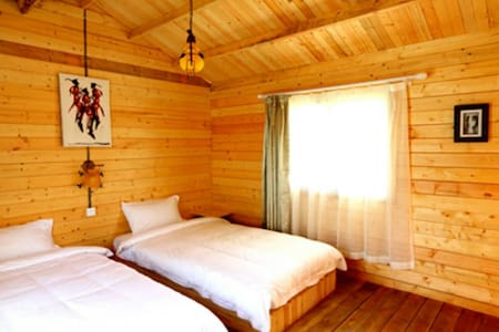 Accommodation in executive cottages