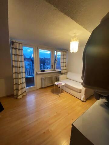 Zentrale 1 Zimmer Wohnung in der Altstadt