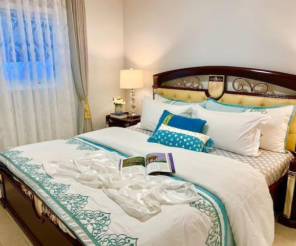 Cozy Bedroom One