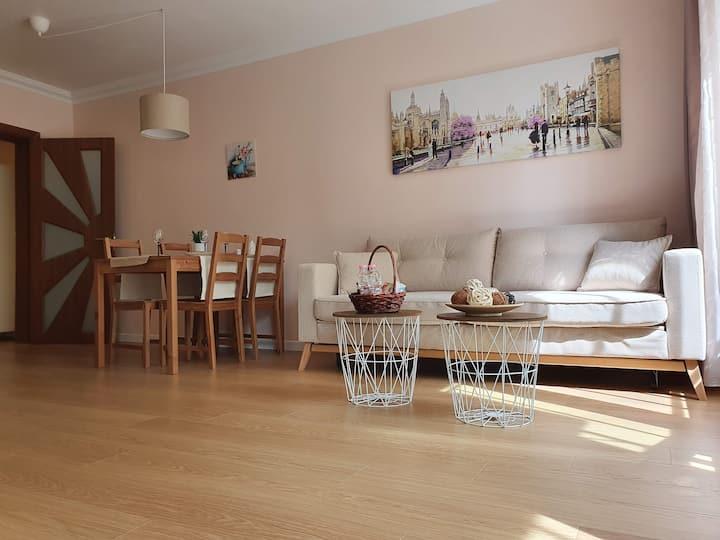 Brand new luxury apartment, close to city center