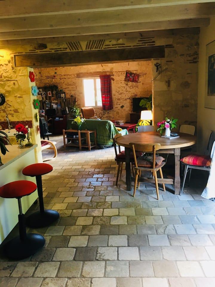 Maison de campagne /Bergerac, jardin