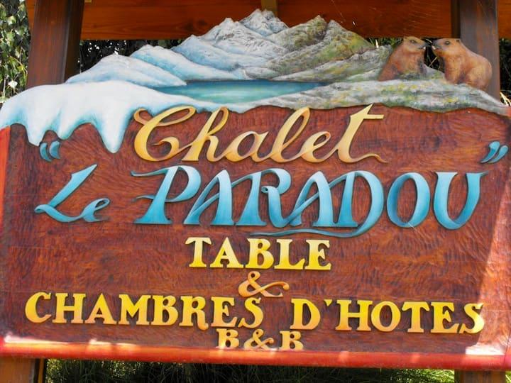 CHAMBRES d 'HOTES Le Paradou- La Plagne Tarentaise