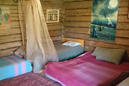 Ethnically traditional sleeping place for summer