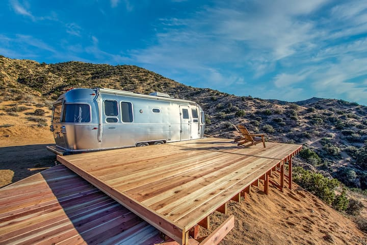 Modern Airstream with Amazing Views