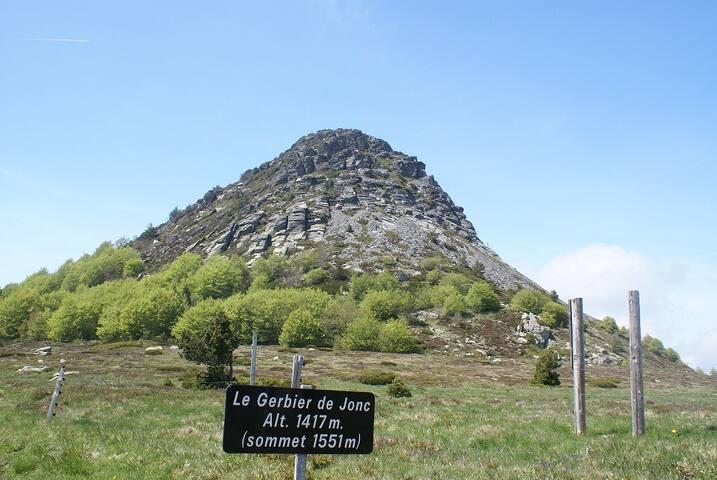 Maison de vacances sur le plateau Ardechois