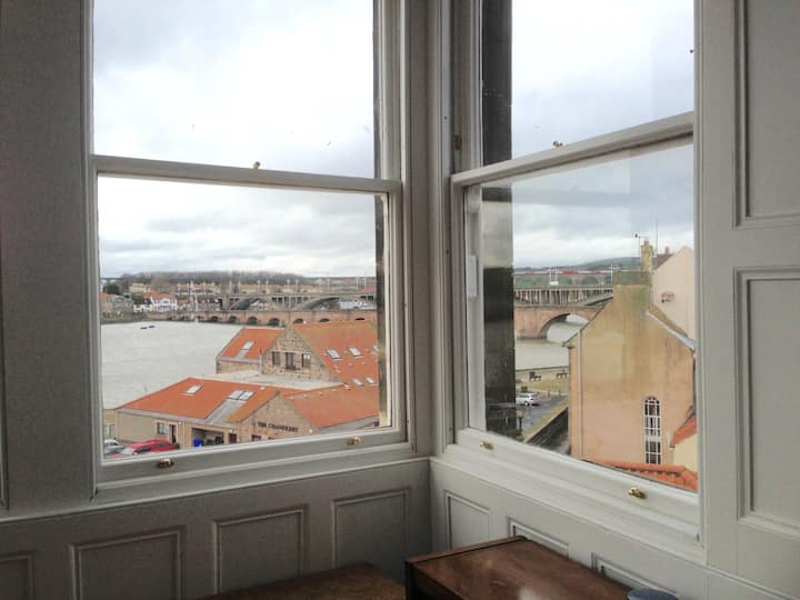 Double upper period apartment with stunning views