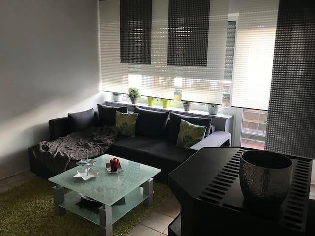 Moderne Wohnung mit zwei Schlafzimmern