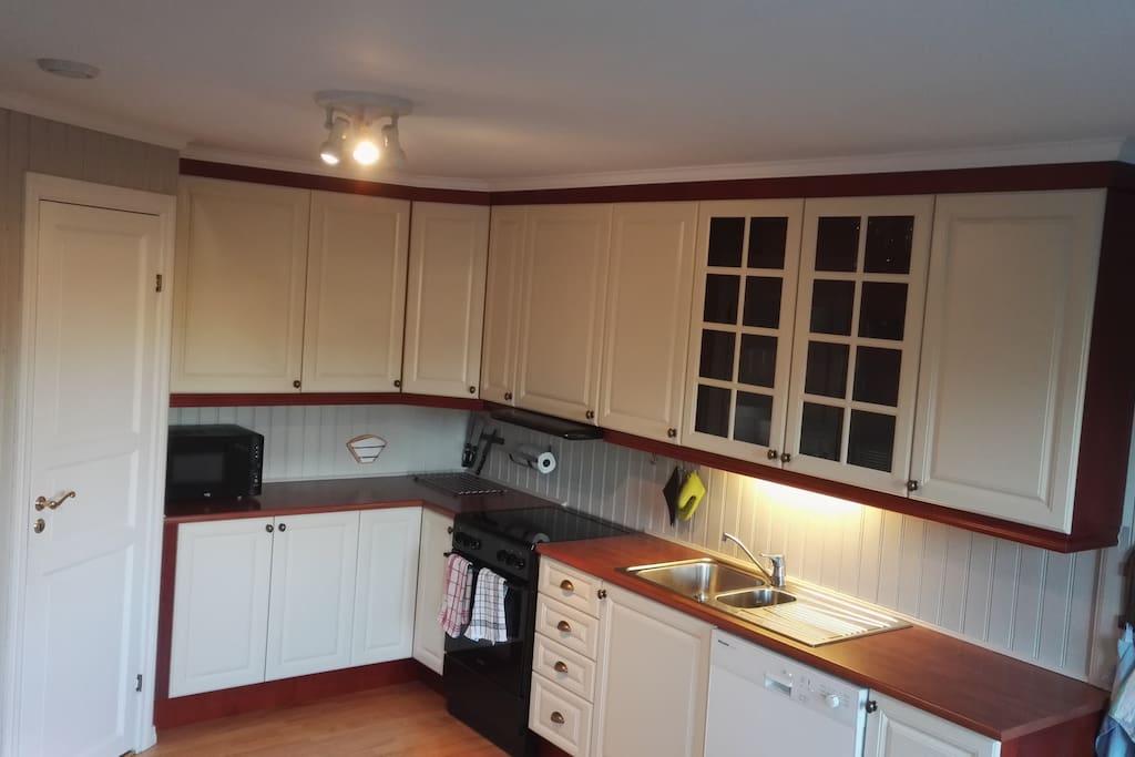 Kjøkken med alt av utstyr