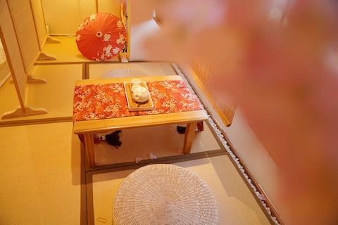 小野民宿·南巷|日式榻榻米大床房|和服体验|网红打卡|金华万达|市中心|含免费和服送摄影服务|日式风