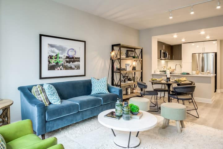 Relax in your own space | 2BR in Bethesda
