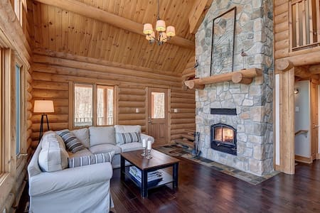 Log Cabin 25 minutes from Mont Tremblant (Hot Tub) - Labelle - Шале