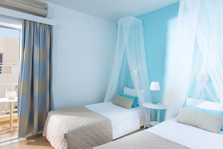 Modern double room in Malia - Malia
