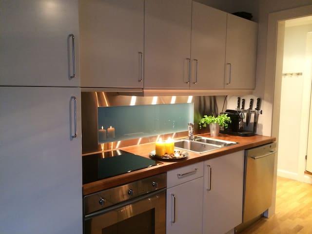Moderne, arealeffektiv leilighet, solrik balkong - Oslo - Apartemen
