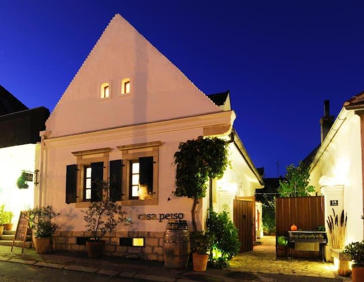 HOMEOFFICE im casa.peiso - Rohrwand