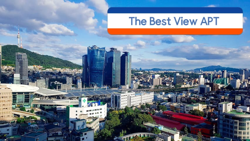 The View M@Seoul station/5G pocket WIFI 32m²